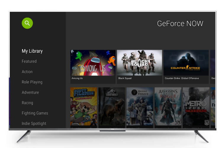 Run GeForce Now on Android TV
